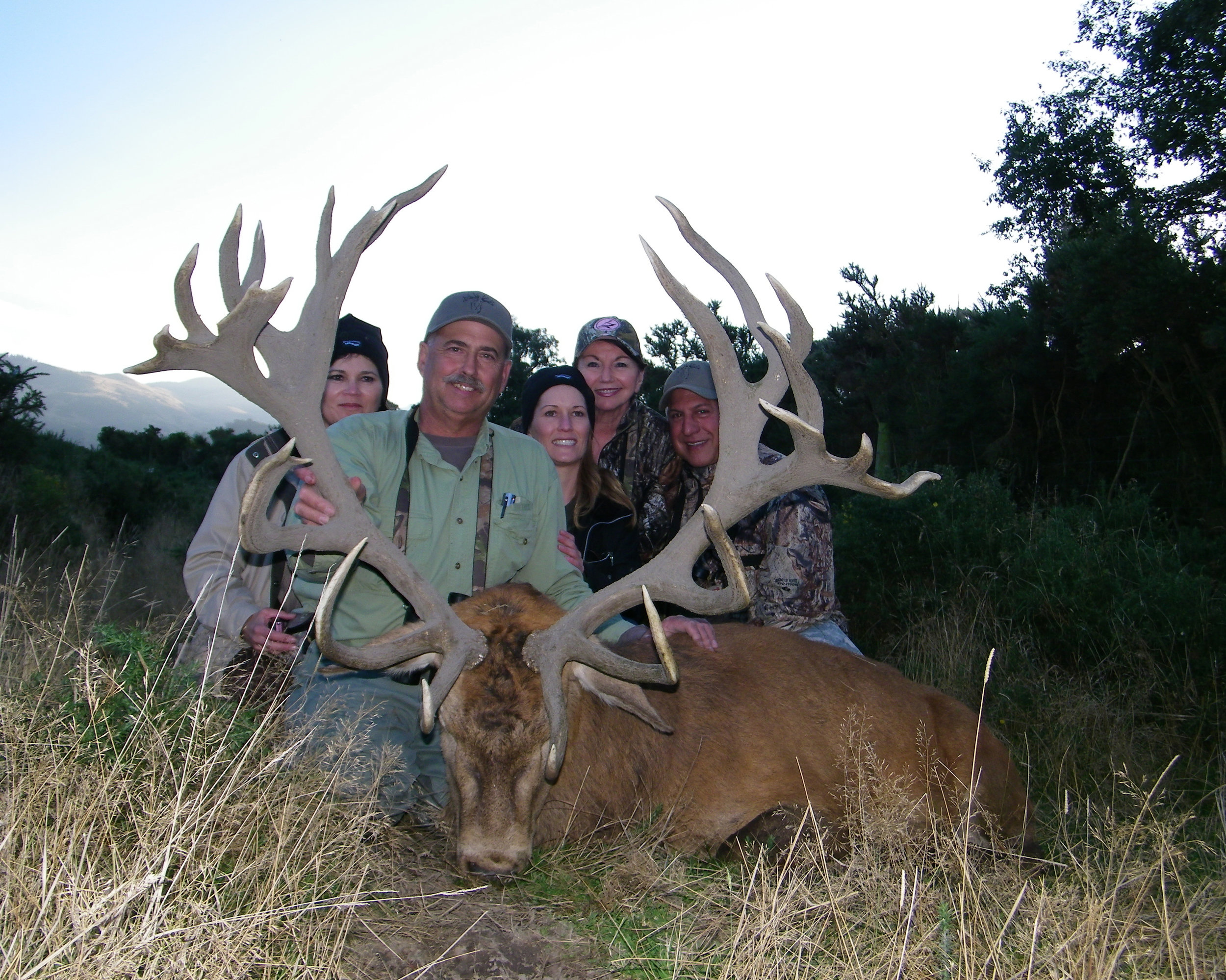 Family hunts for big game, small game, wing shooting & fishing