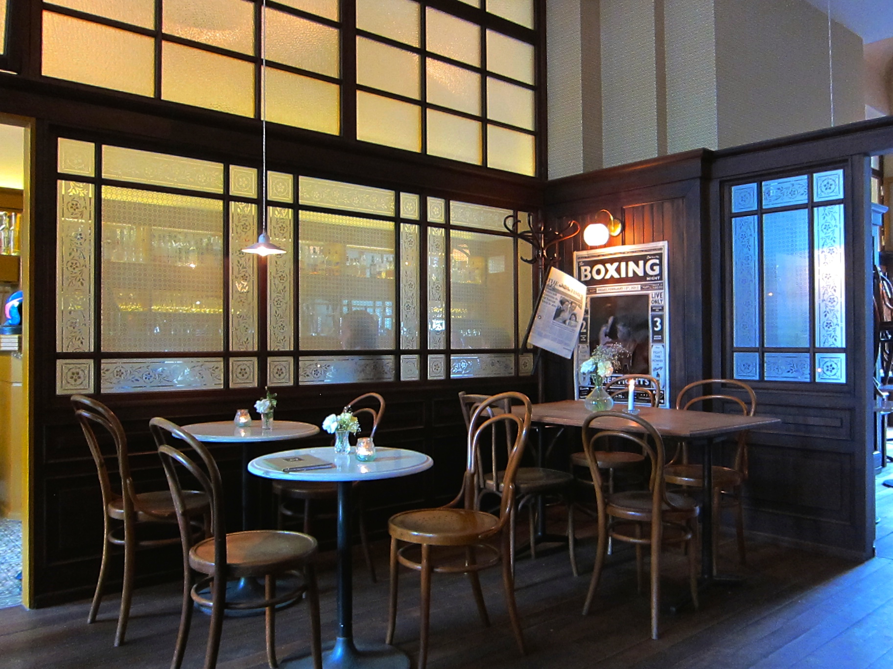 Coffee break at Cafe Lang
