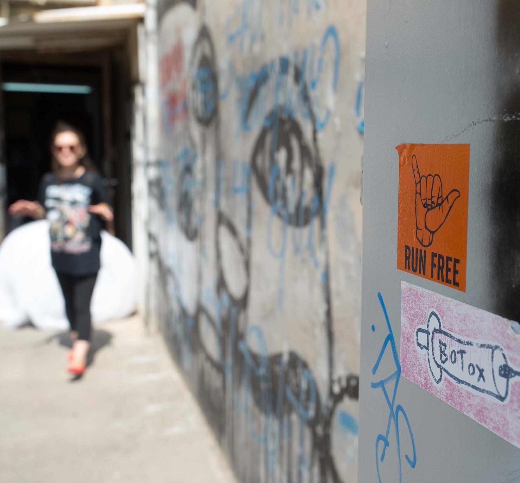 FLORENTIN GRAFFITI TOUR     - with Yael Shapira