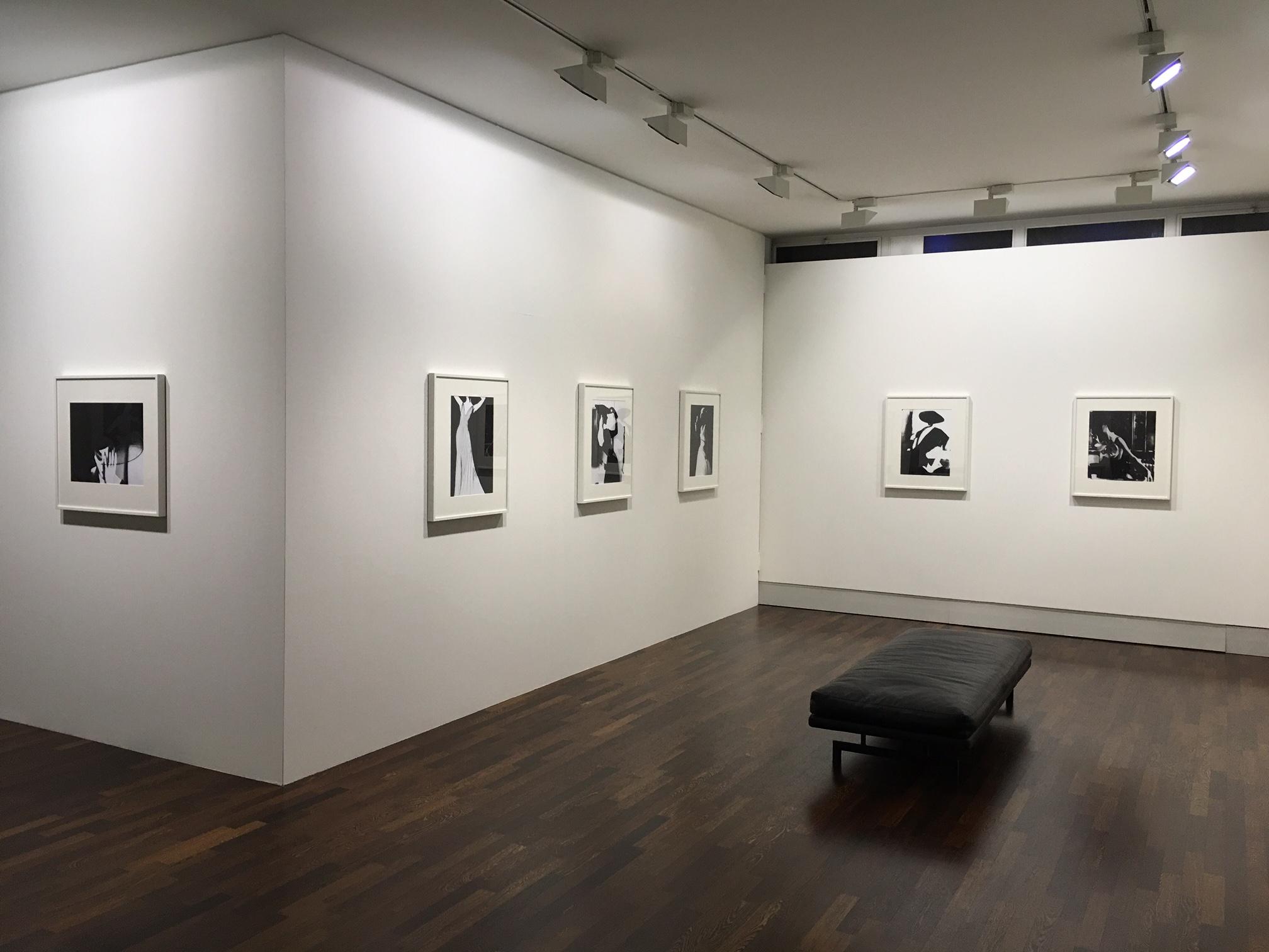 Lillian Bassman exhibition installation view © Lillian Bassman Estate / Courtesy of Edwynn Houk Gallery