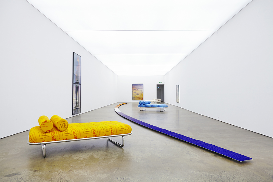 Darren Sylvester, installation view, Neon Parc, Melbourne.