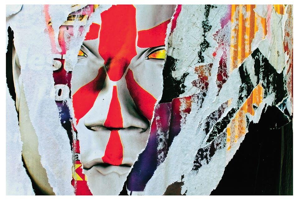 "Aaron Weiner ""Attack of Satan"" collage 2014"