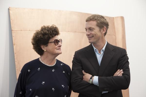 Chantal Crousel and her son Niklas