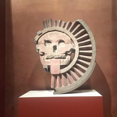 Teotihuacan - Circular Relief: Sun Pyramid
