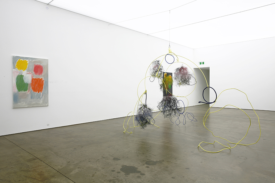 Photo: Mira Gojak / Elizabeth Newman,Installation view. Courtesy of Neon Parc.