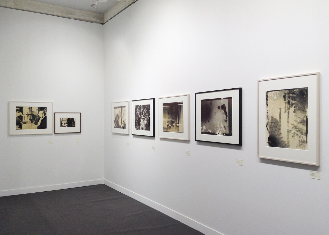 Installation view of Shigeru Onishi vintage prints, MEM Gallery, Tokyo