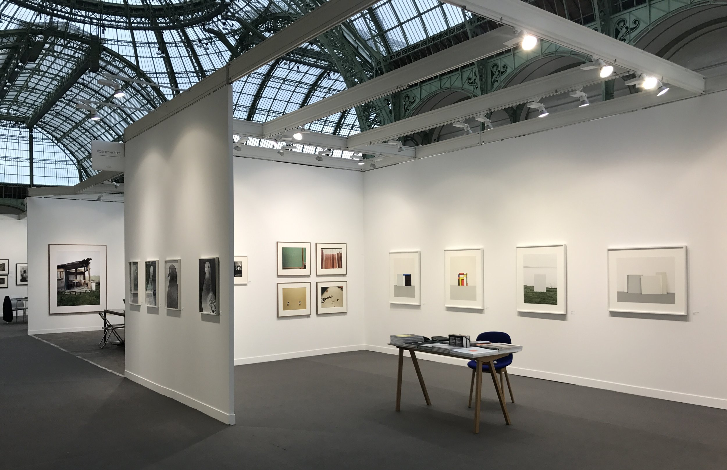 Installation view of Galerie Robert Morat, Berlin