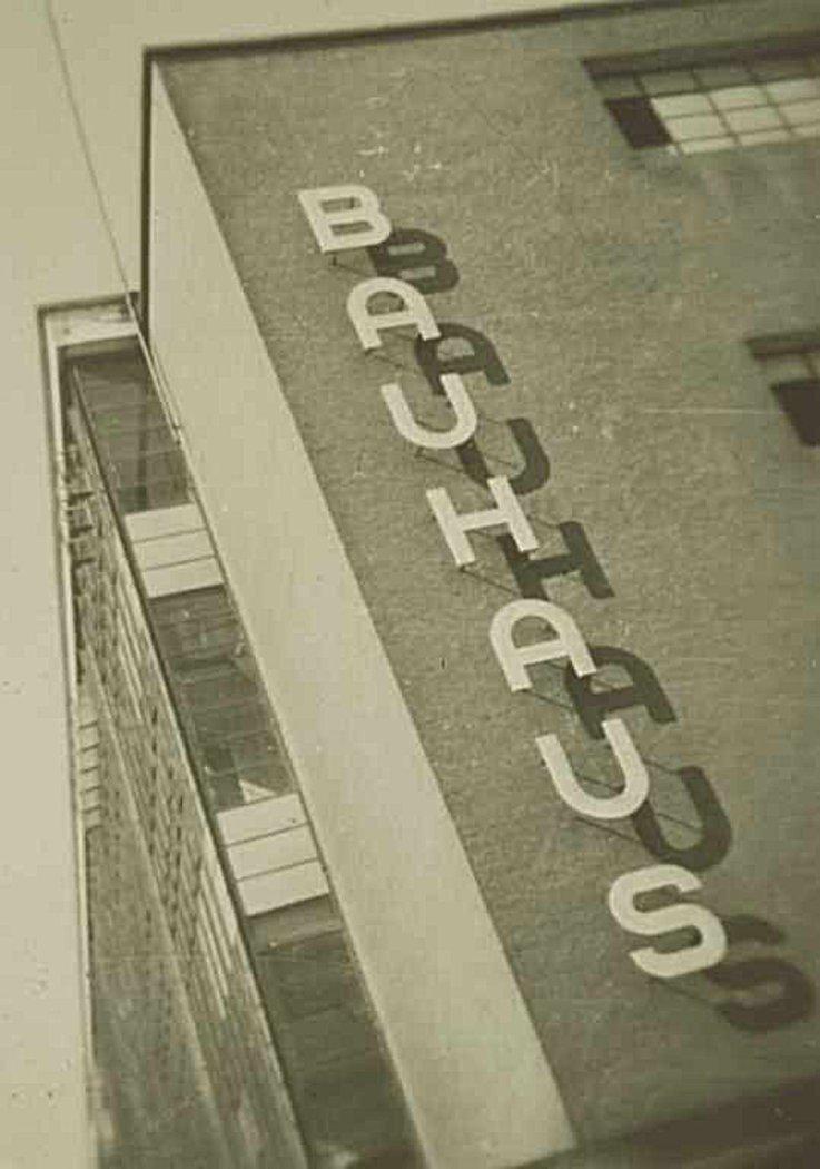 The Bauhaus School circa 1940s. Image:  Bauhaus Dessau