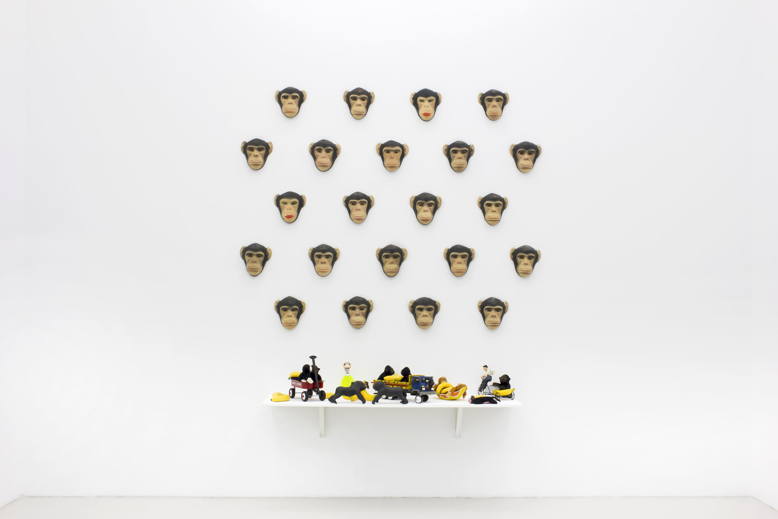 Nelson Leirner, Yes, nos temos bananas, 2005, Galeria Graça Brandao
