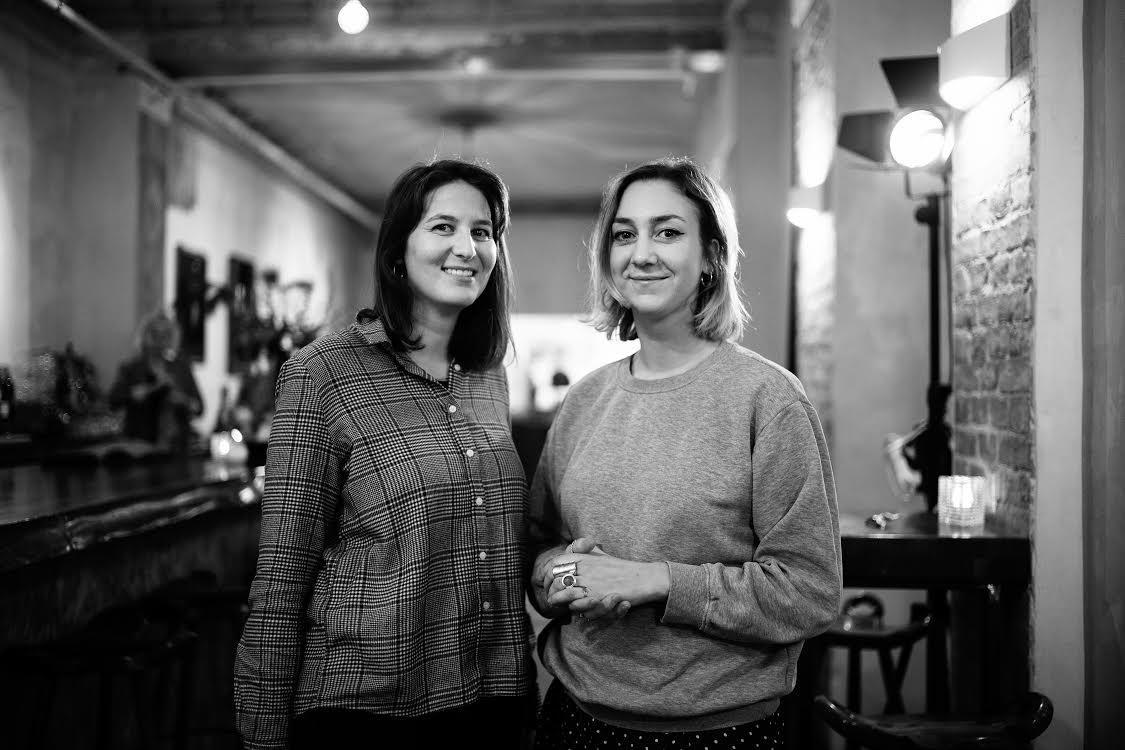 Ariela Braunschweig (left) and Constance van Berckel (right)  Photo: Andy Richter