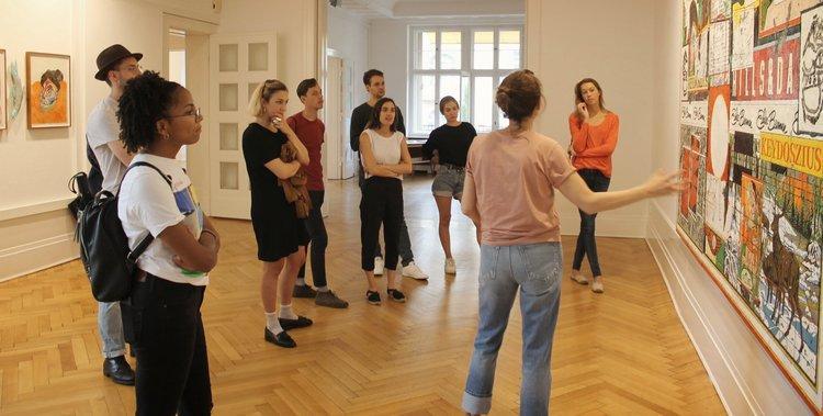 Gallery tour in Charlottenburg  (Photo: GNYP Gallery, Charlottenburg, Charlottenburg)