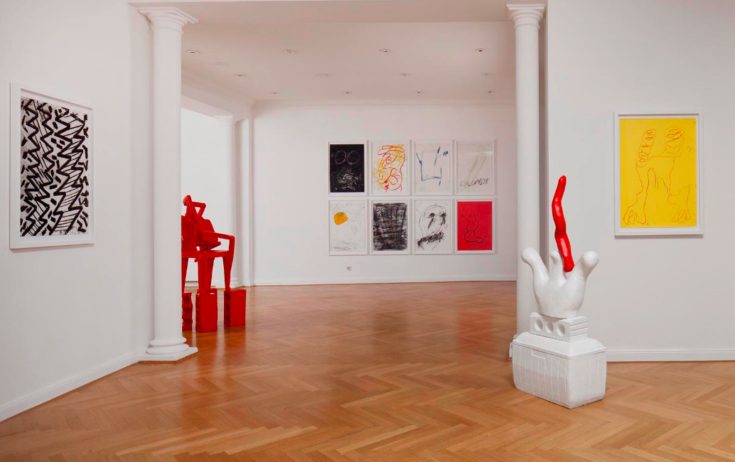 Photo credit: Installation view of Cameron Platter Salami, Gnyp Gallery.