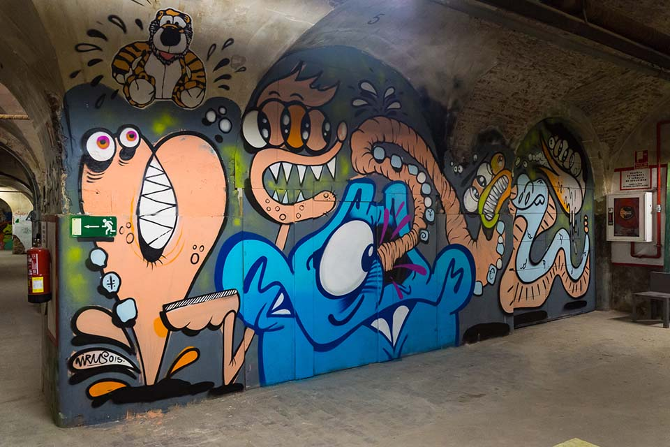 Madrid's Graffiti Warehouse