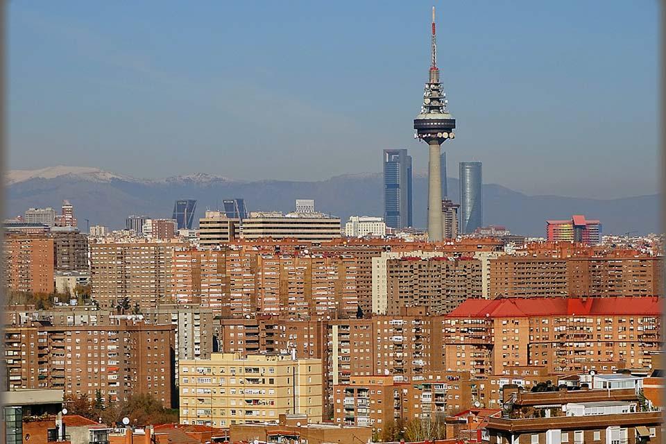 Madrid's Best Panoramic View