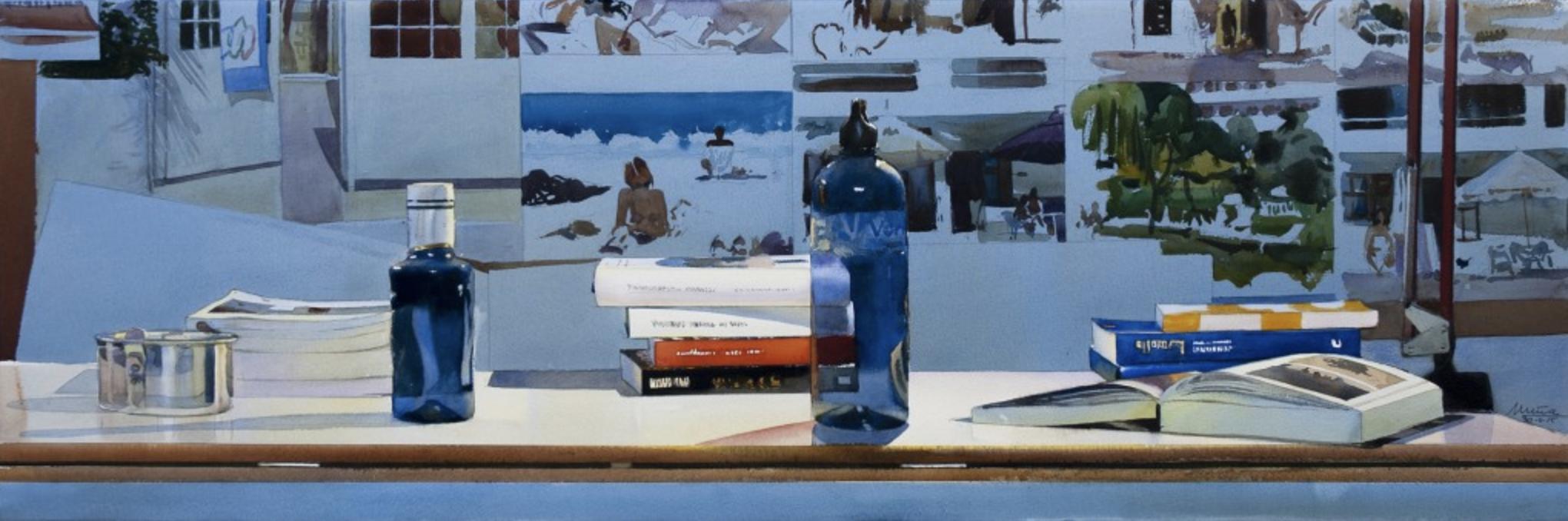 Dos botellas II, 2015 © Joaquín Ureña