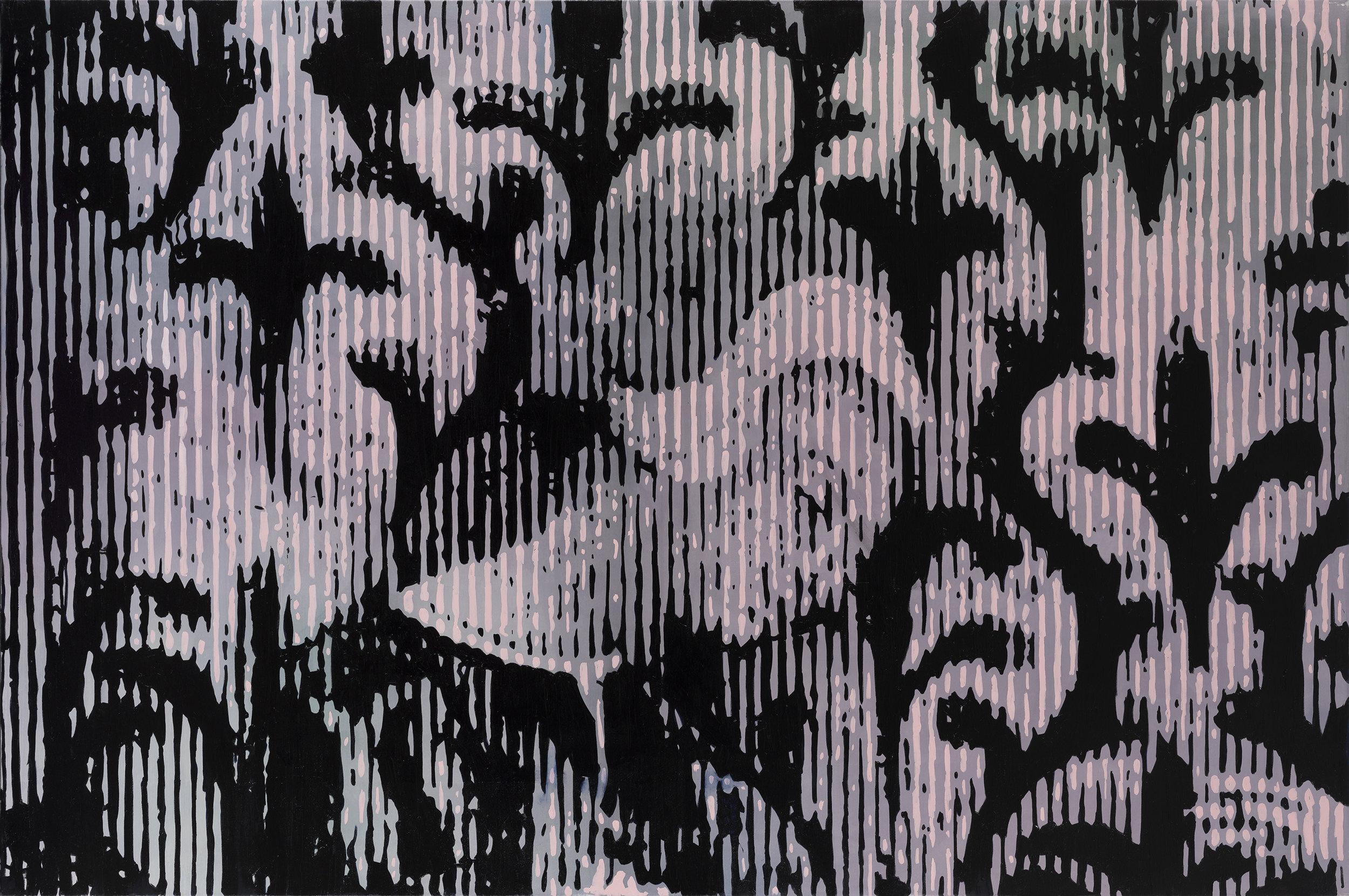 Oren Eliav, Lucretia, Oil on canvas