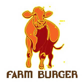 main logo, farm burger