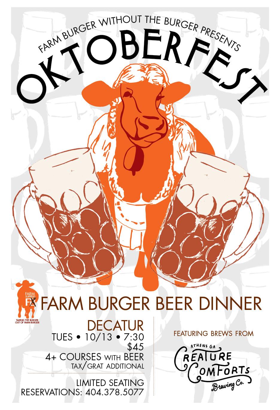 farm meal: oktoberfest