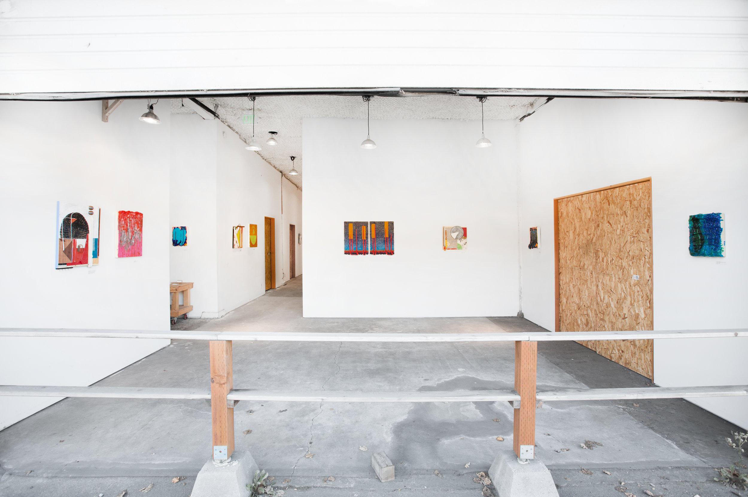 In Between Doing & Undoing , Installation View