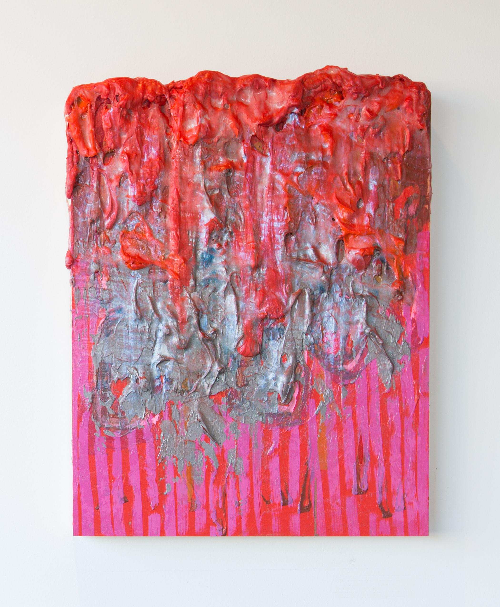 Joshua Thompson,  Accretions: Red Tide 2 , 2017
