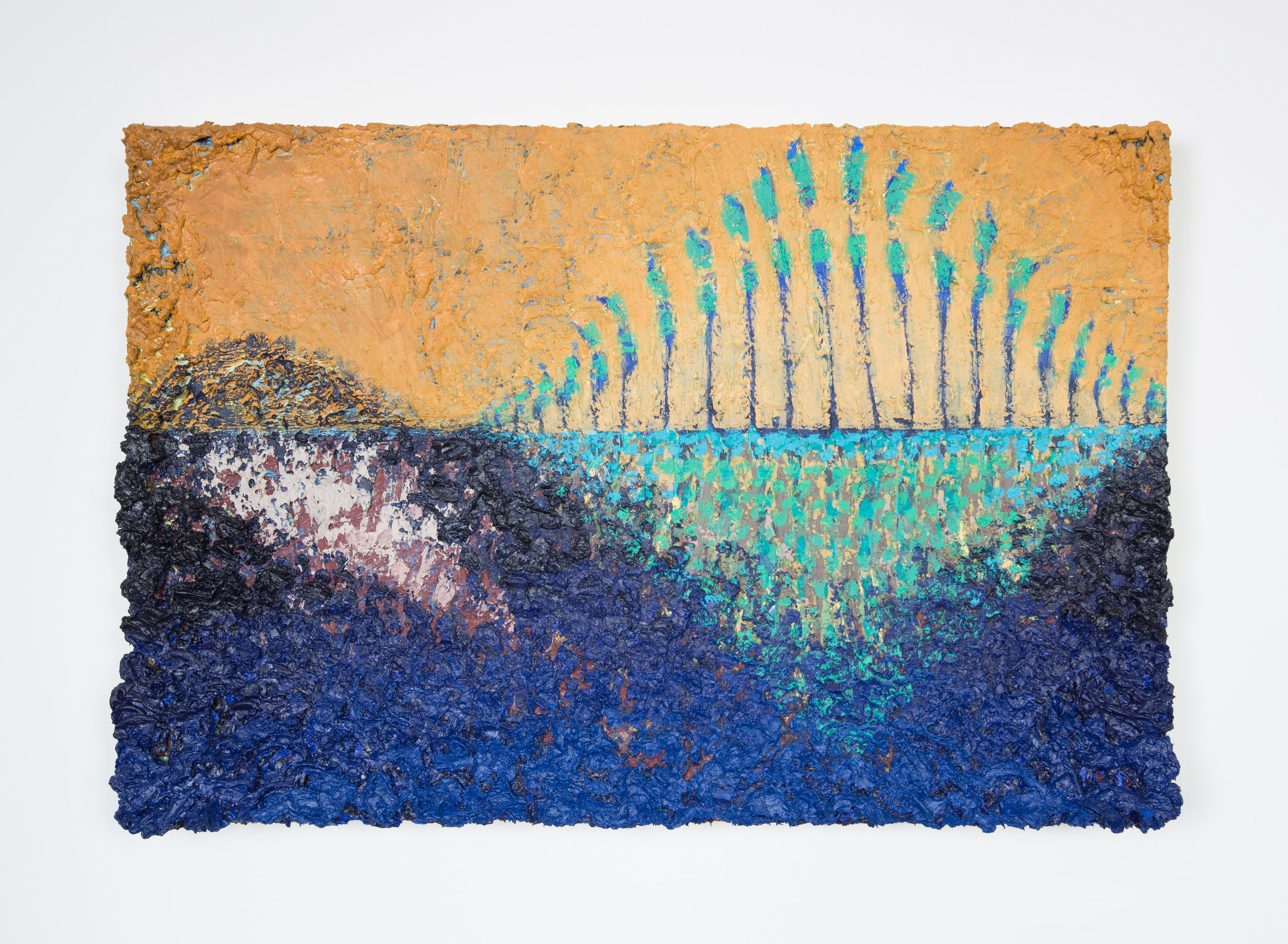 Joshua Thompson,  We Waded Through A Low Golden And Solemn Glow , 2015-17