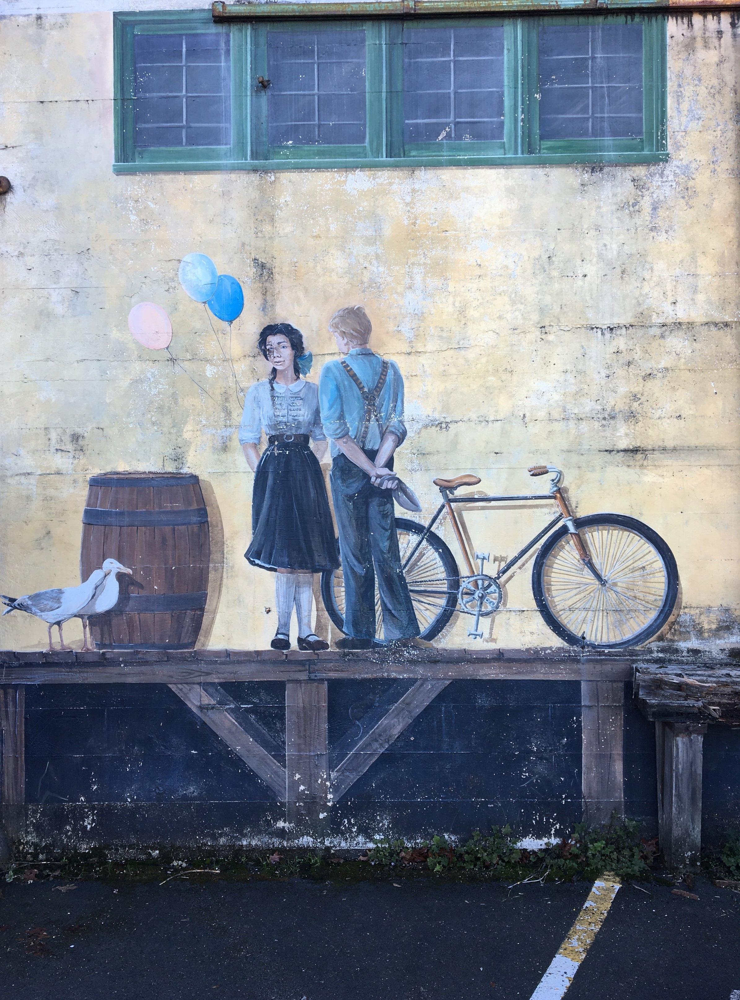 Bikes and romance.