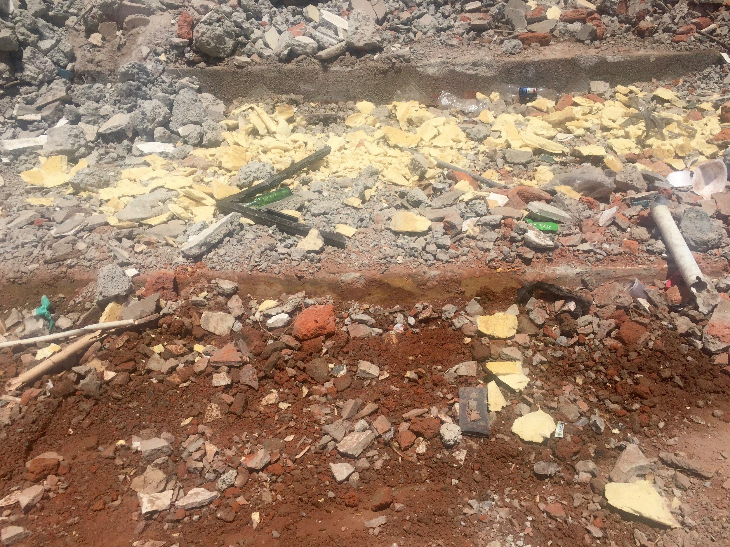 Escombres de Hotel