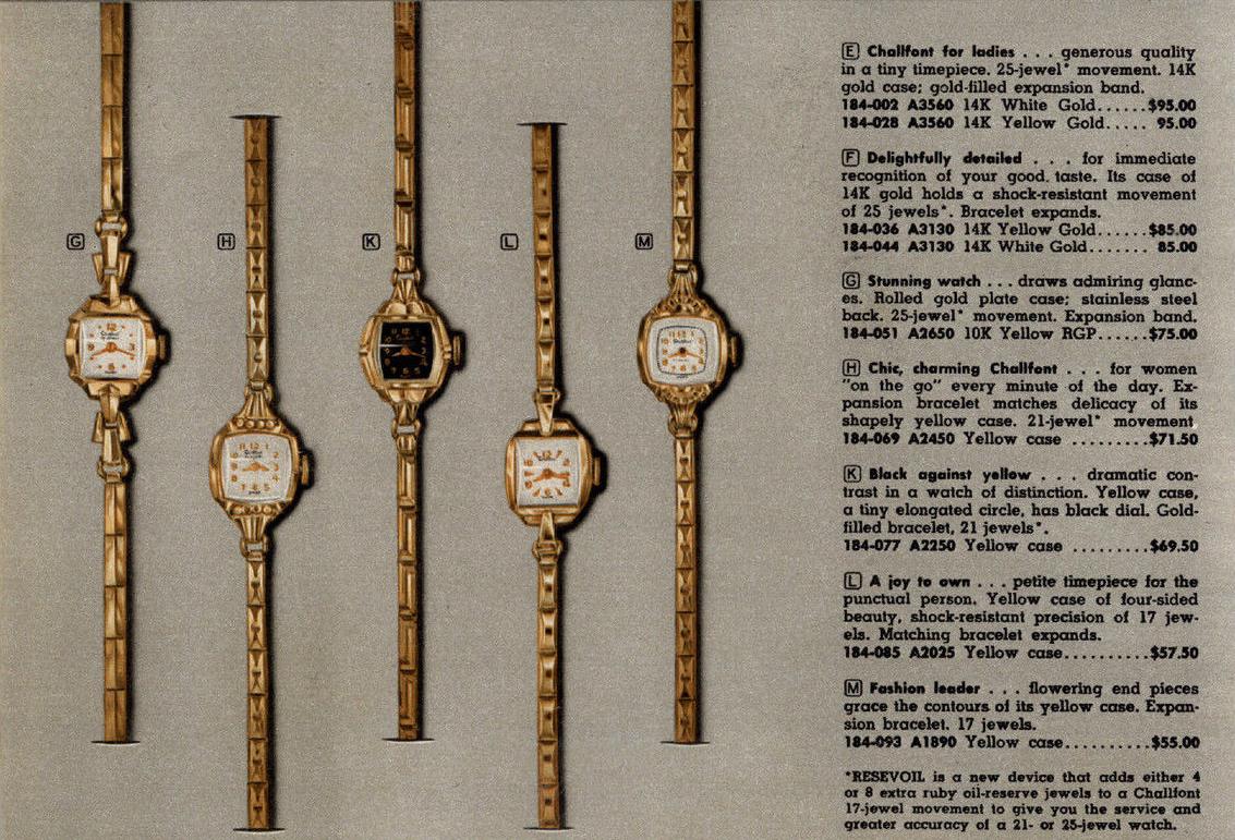 1957 advertisement, via eBay