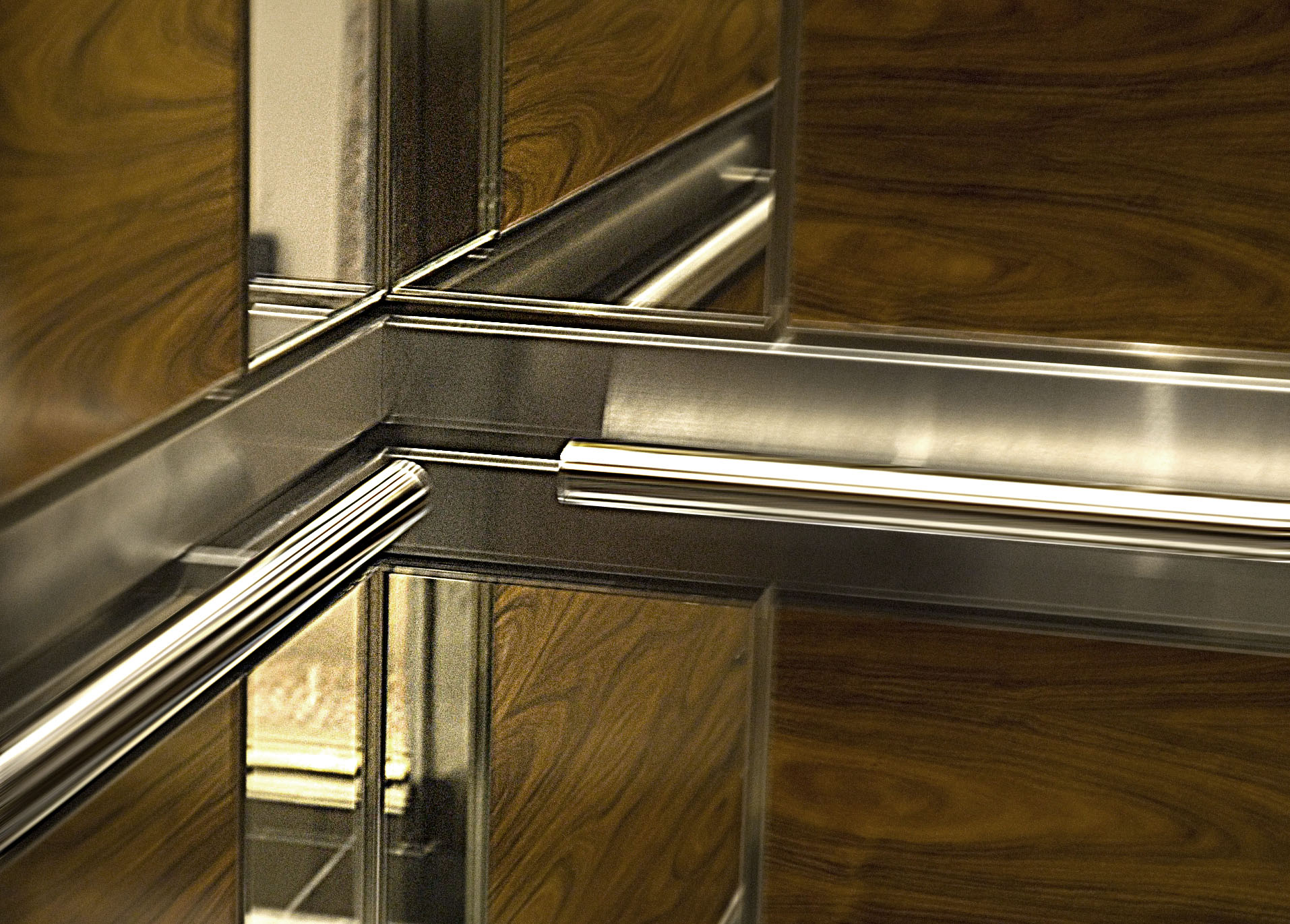Polished Stainless Steel Tubular Handrails