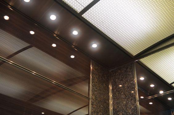 ELEVATOR CEILINGS - Custom Elevator Ceiling Design and Planning