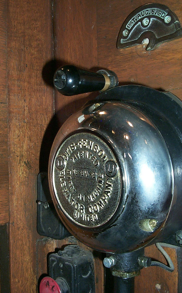 Otis Fensom Operator Switch - 1890
