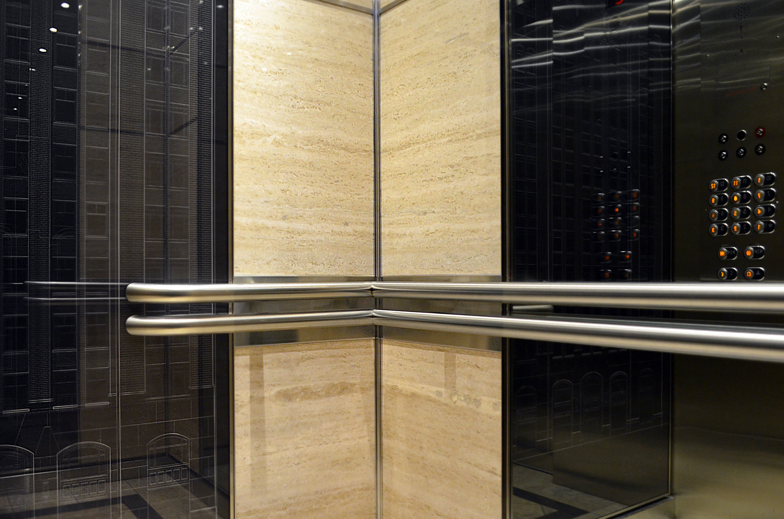 Lightweight Travertine Wall Panels