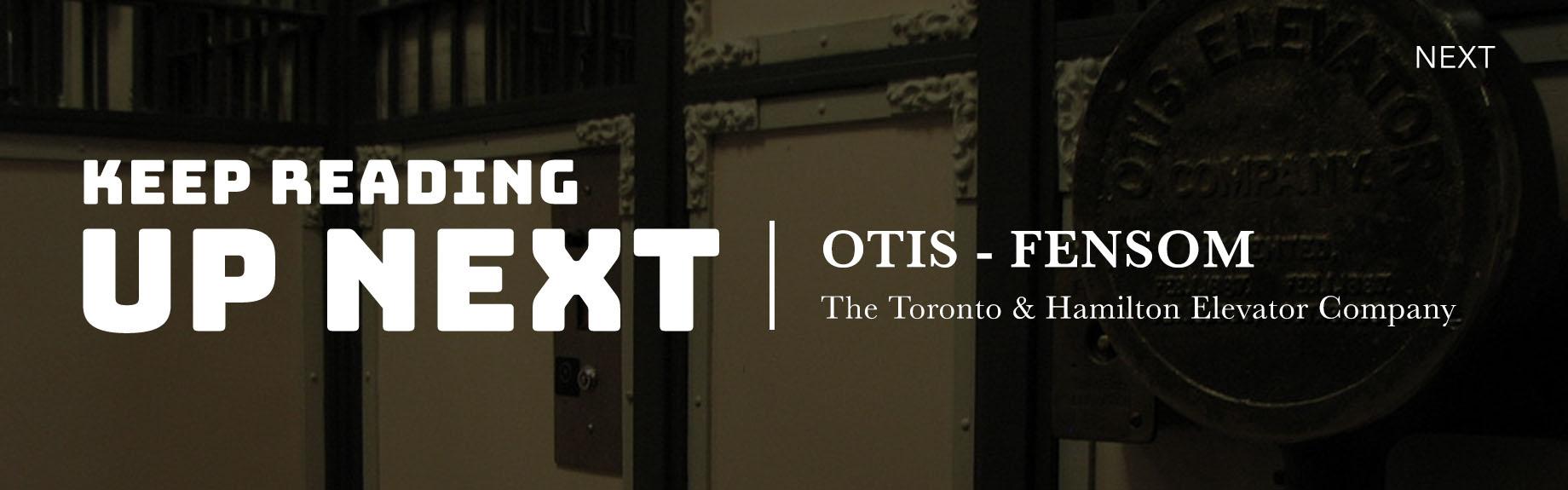 Otis Fensom Elevator