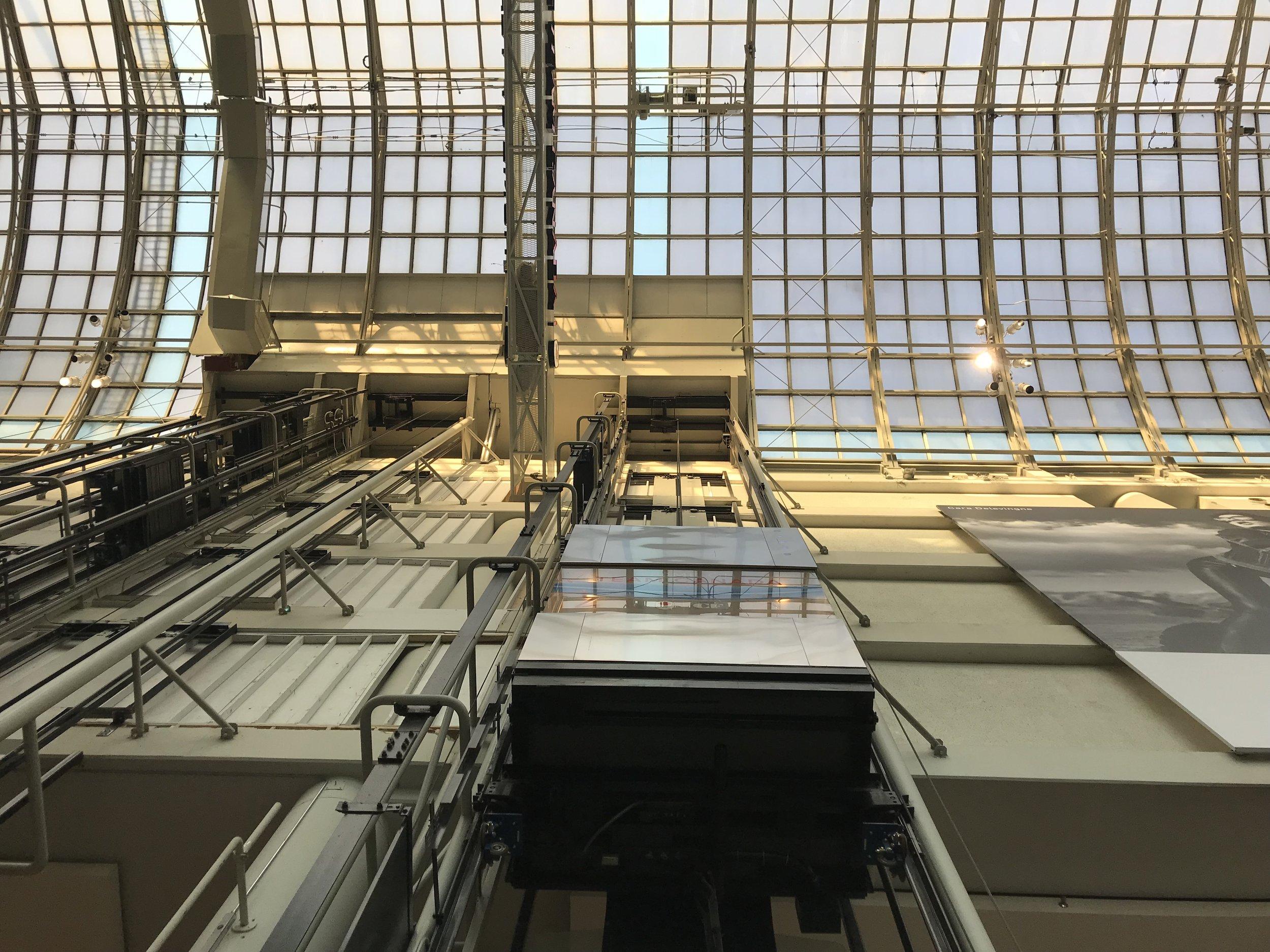 Toronto Eatons Centre Elevator