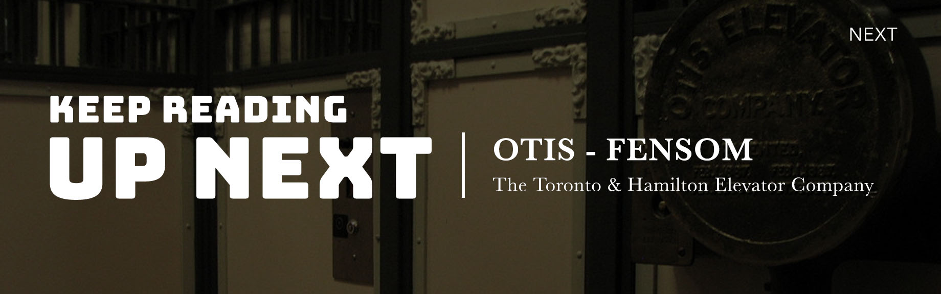 Otis Elevator History