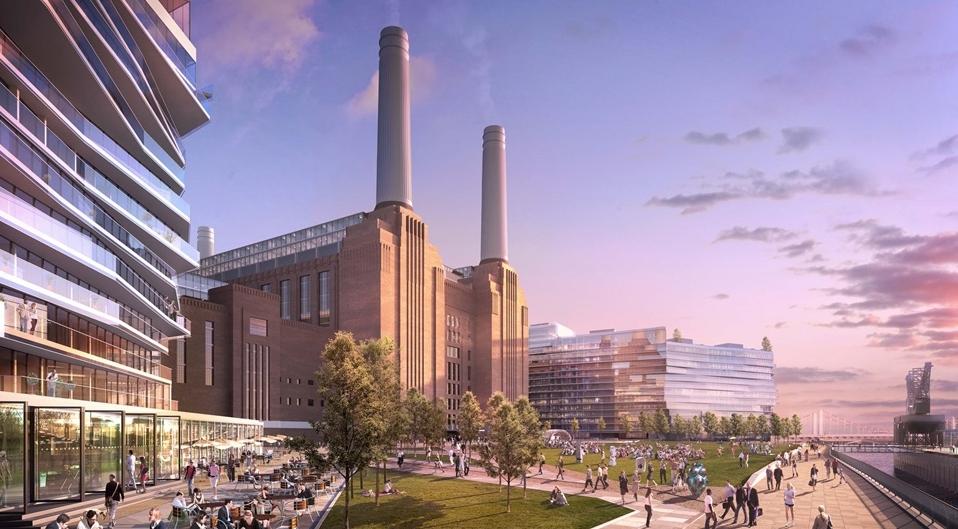 Battersea Power Station Rendering