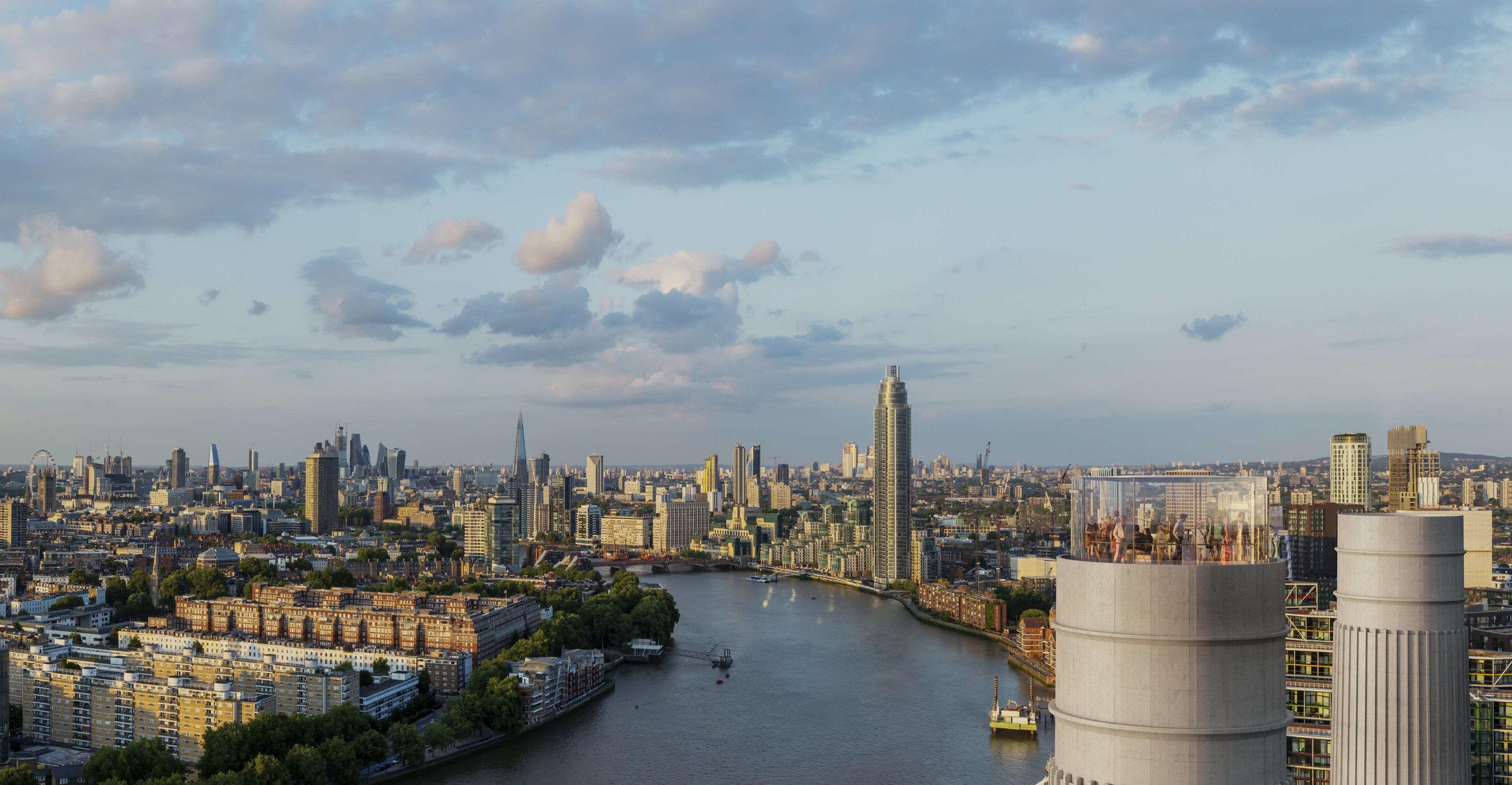 Glass Elevator London Chimney Lift