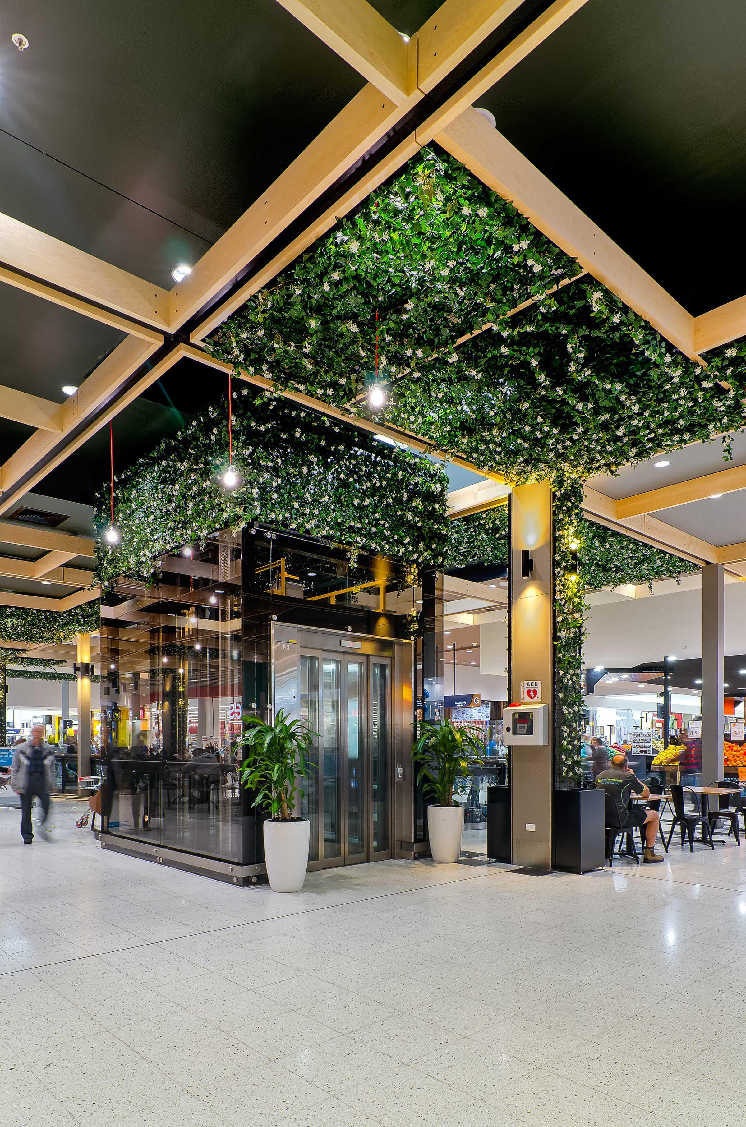 Wetherill Park Shopping Centre Garden Elevator