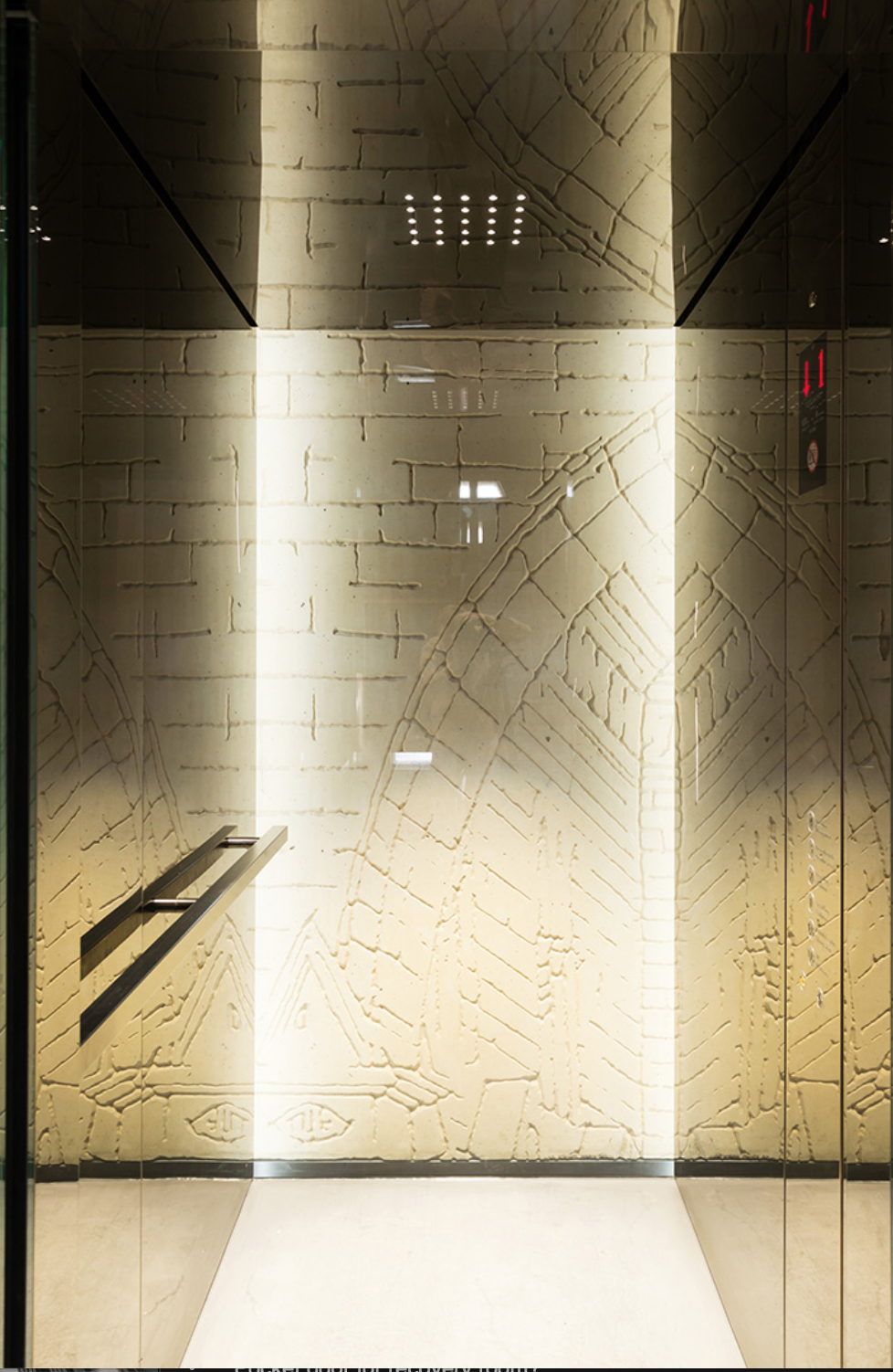 Custom Elevator - EXHIBITIONS / MUSEUMSDesigned by Speech Architects