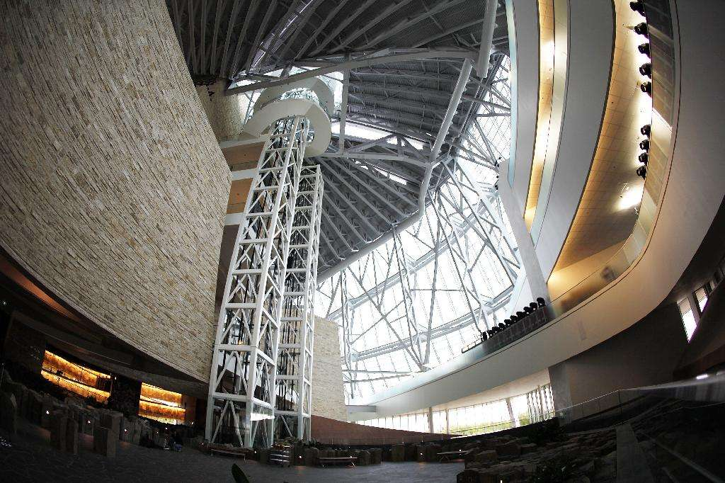 Inside the museum – spectacular from every angle. THE CANADIAN PRESS/John Wood