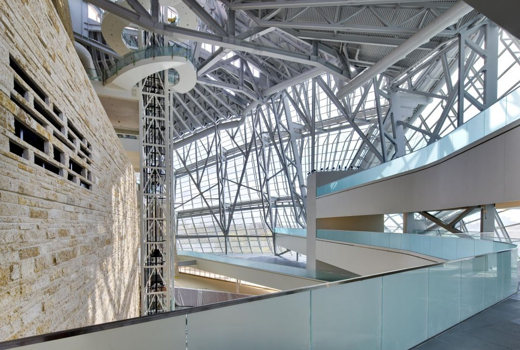 Atrium View from Offices