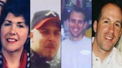 The victims of the Superbike murders