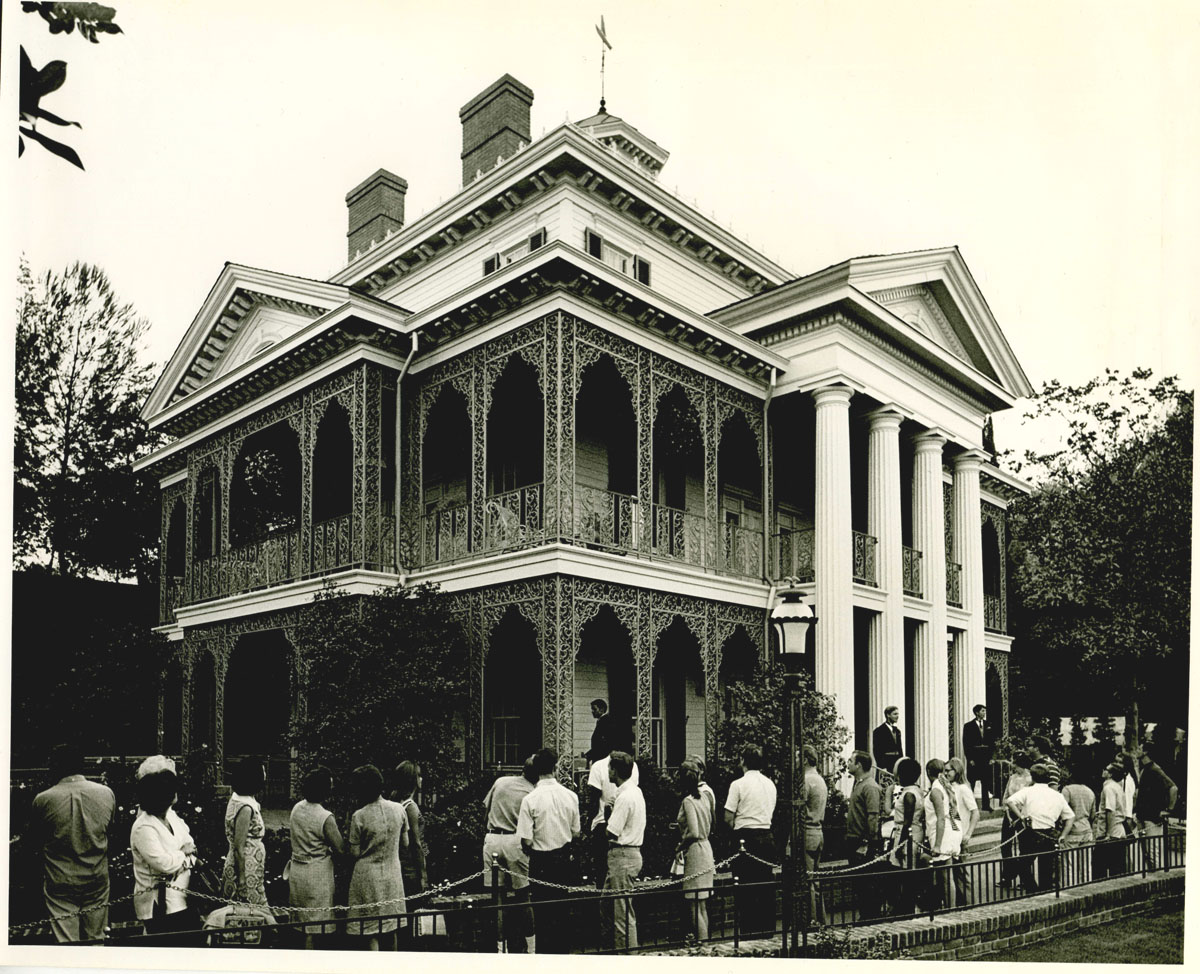 The Haunted Mansion in 1969