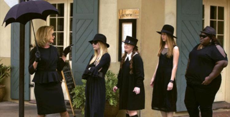 Fiona, Madison, Nan, Zoe, and Queenie