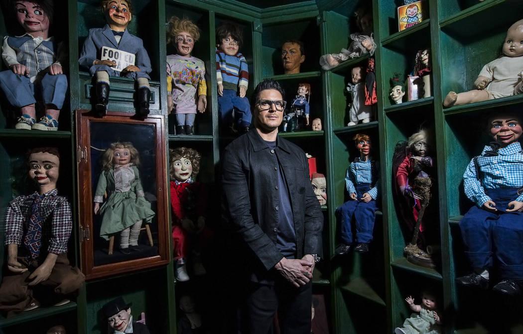 Zak Bagans in The Haunted Museum