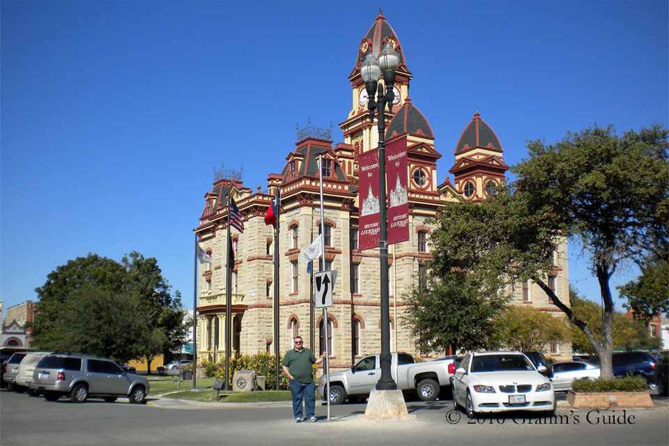 The Caldwell County Courthouse, as seen in November 2011