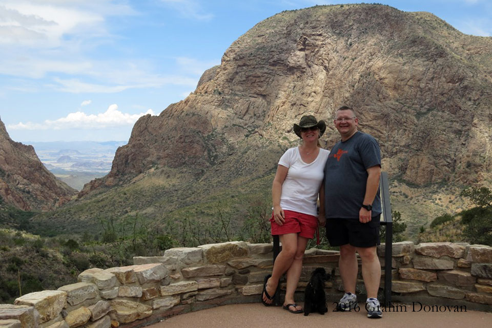 In Big Bend National Park in July 2013