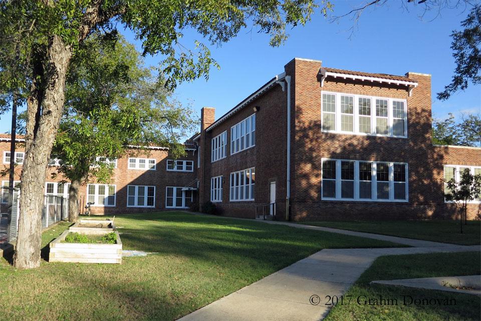 Junior High School - Side View