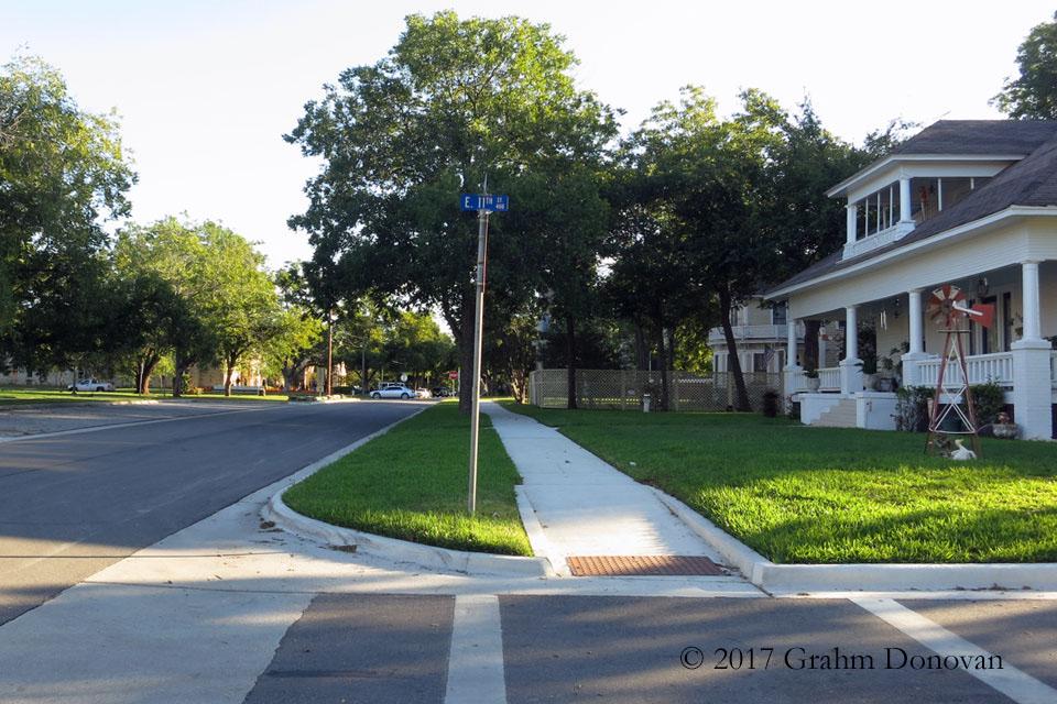Junior High Cross Street