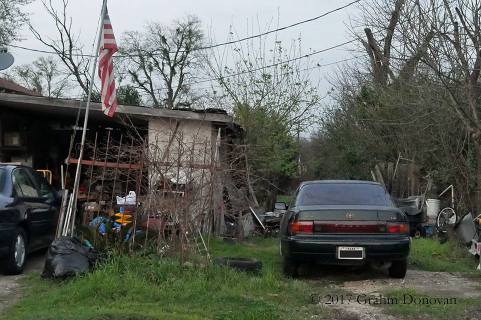 Saracen House - Side Yard